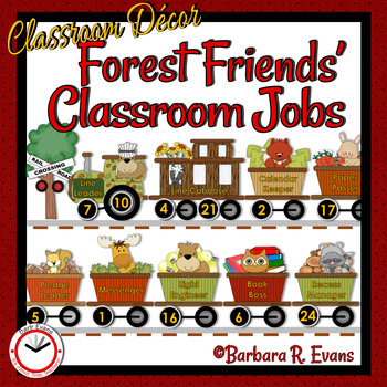CLASSROOM JOBS: Forest Friends Edition