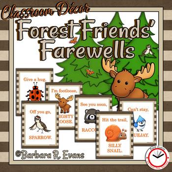 FOREST FRIENDS FAREWELLS
