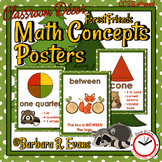 MATH CONCEPTS: Forest Friends Edition