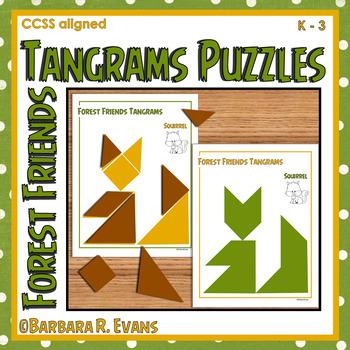 TANGRAMS UNIT: Tangrams, Tangram Puzzles, Math Center, Pro