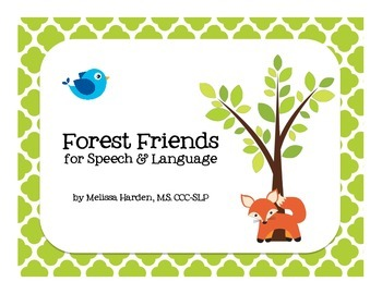 Forest Friends for Speech & Language: Activities for Mixed Groups