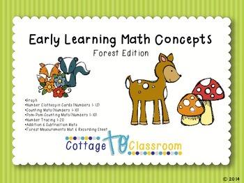 Forest Math Activities