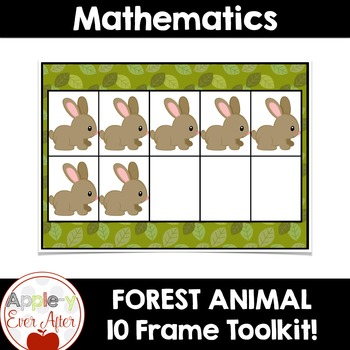 Forest Theme - 10 Ten Frame