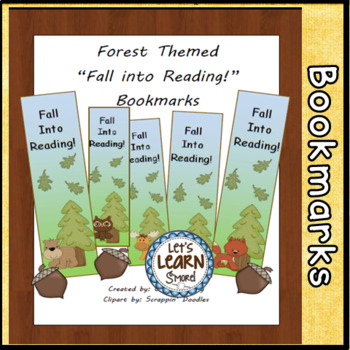 Forest or Fall Bookmarks (Free)