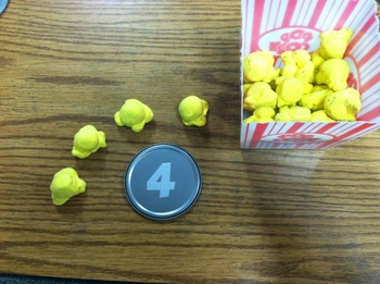 Forever Lasting Popcorn Manipulatives and Activities