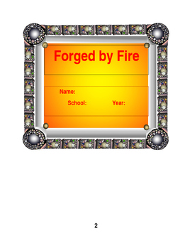 Forged by Fire Teacher Reflection Journal
