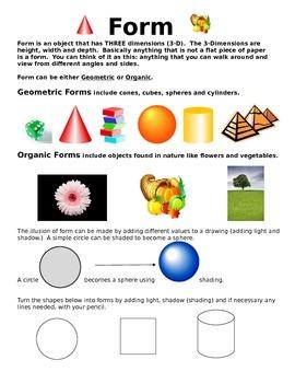 Form: Elements of Art