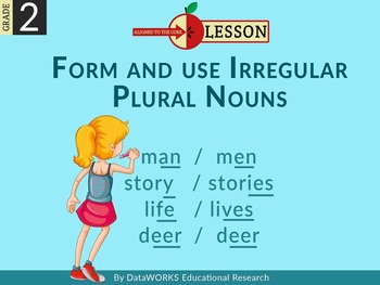 Form and Use Irregular Plural Nouns