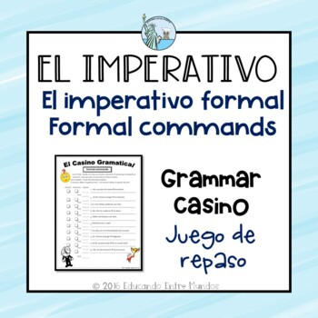 Formal Commands Mandatos Formales