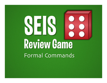 Spanish Formal Commands Seis Game