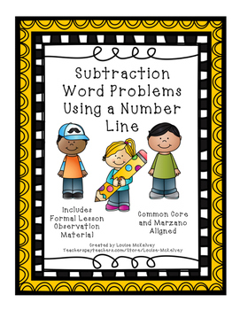 Formal Lesson Observation Subtraction with a number line