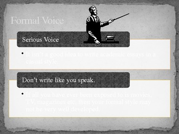 Formal Style in Essay Writing