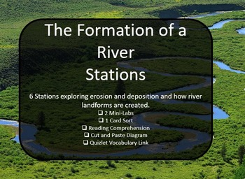 Formation of a River Interactive Science Stations and Labs