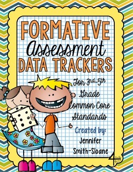 Formative Assessment Data Trackers- 3rd through 5th- Align