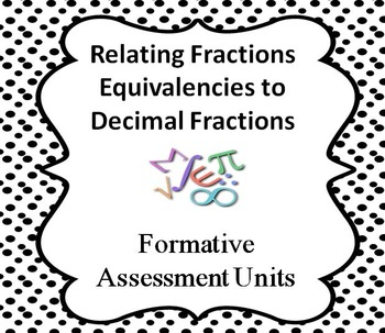 Formative Assessment Lesson: Relating Fractions Equivalenc