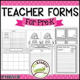 Forms for Pre-K Teachers
