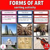 Forms of Art Montessori Cards