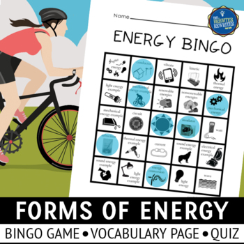 Forms of Energy Bingo