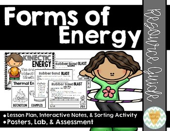 Forms of Energy Resource Guide {Forms of Potential/Kinetic