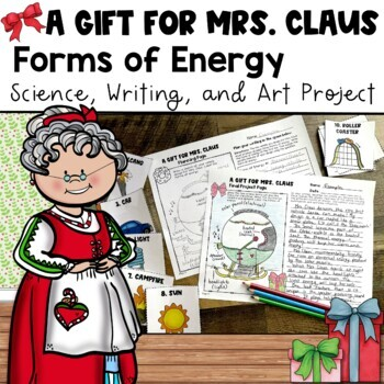 Forms of Energy Science and Writing Project {Christmas Theme}