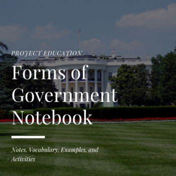 Forms of Government Notebook