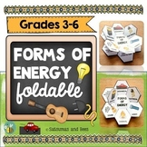 Forms of energy-Interactive Science Notebook foldables