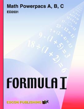 Formula 1 Math Powerpac B Lesson 1,  Place value through millions