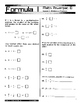 Formula 1 Powerpac D Lesson 2, Division of Fractions