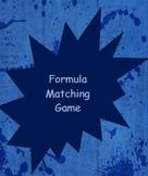 Formula Matching Game-Literal Equations