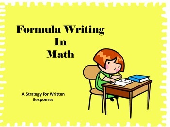 Formula Writing in Math