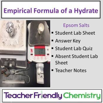 Chemistry Lab: Empirical Formula of a Hydrated Compound