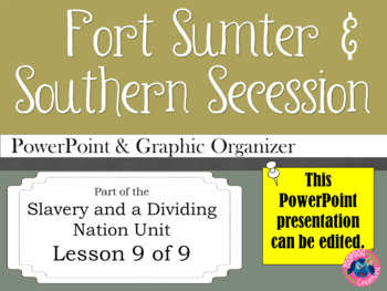 Fort Sumter and Southern Secession