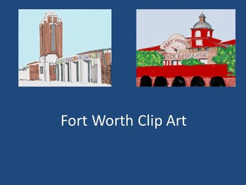 Fort Worth Texas Clip Art