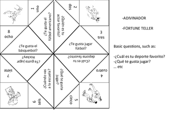 Fortune Teller - Basic questions