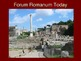 Forum Romanum PowerPoint Slideshow