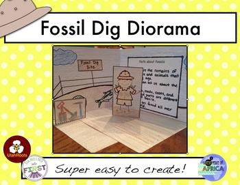 Fossil Diorama
