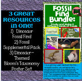 Dinosaur Fossil Find!  (Explore and Create: 6 Types of Fos