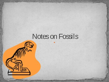 Fossil Notes