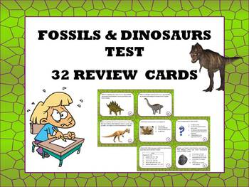 Dinosaurs and Fossils science: review and SAGE test prepar