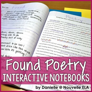 Found Poetry Lesson for Interactive Notebooks