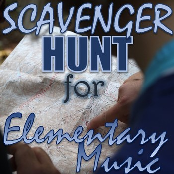 "Scavenger Hunt for Elementary Music - ""Found Sounds"" - Out"
