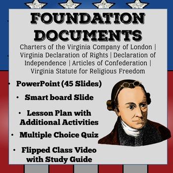 Foundation Documents - Civics SOL: Virginia Declaration of