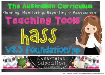 Foundation/Pre Primary History Australian Curriculum Package