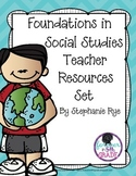 Foundations in Social Studies Teacher Resources Set