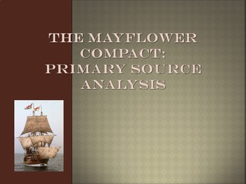 Foundations of Government - The Mayflower Compact - Primar