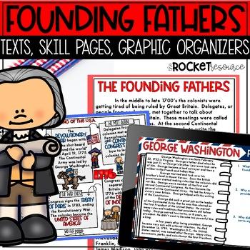 Founding Fathers: Washington, Jefferson, Adams, Franklin,