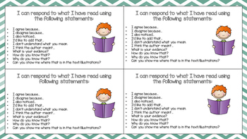 Fountas & Pinnell Prompting Cards for Students