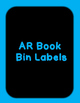 Fountas and  Pinnell, AR and DRA  Book Bin Labels  with an