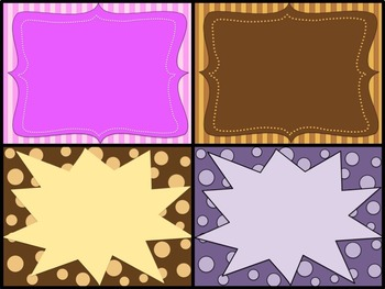 FREEBIE  Four Backgrounds in PNG format