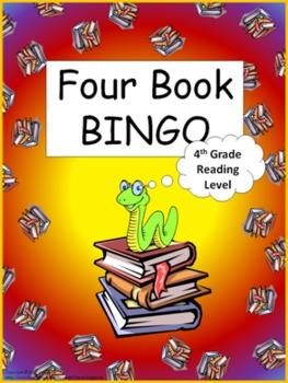 Four Book BINGO (4th grade)- Independent Reading Activity